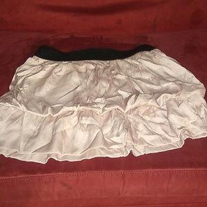 Womens ruffled skirt